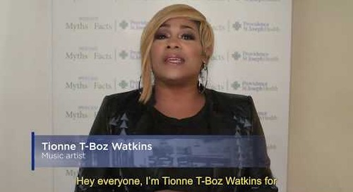 Medicaid Myths & Facts: Tionne T-Boz  Watkins