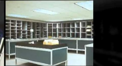 Hamilton Sorter Mailroom Modular Furniture Casework Texas Kansas Oklahoma Ph 800-803-1083
