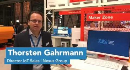Hannover Messe 2019 | Nexus Group - Thorsten Gahrmann, Directo IoT Sales