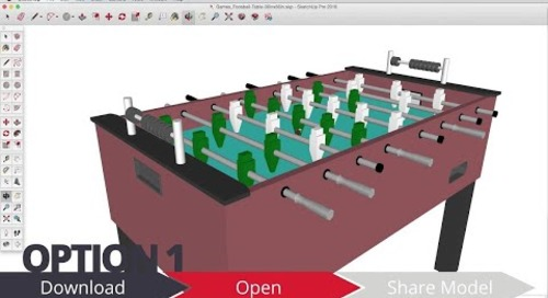3D Warehouse: Updating a Model