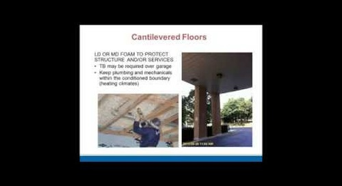 Spray Foam Insulation Webinar: Continuous Insulation & Weather Barriers