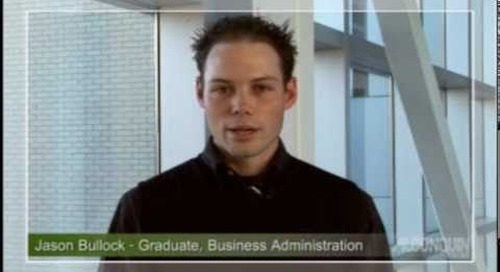 Algonquin College Testimonial - Financial Services Major - Business Administration