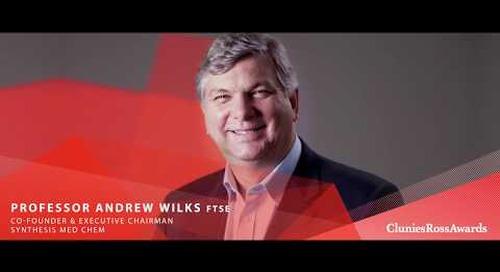 2017 Clunies Ross Entrepreneur of the Year Award -  Professor Andrew Wilks FTSE