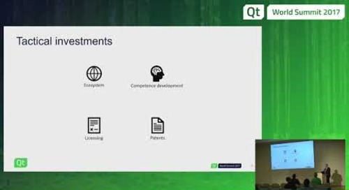 QtWS17 Investing into Software Technologies, Petteri Holländer, The Qt Company