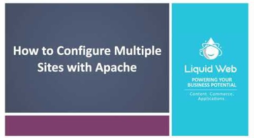 How to Configure Multiple Sites with Apache
