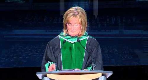 Convocation 2015 - President Cheryl Jensen