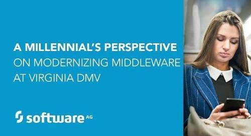 A Millennial's Perspective: Modernizing Middleware at Virginia DMV