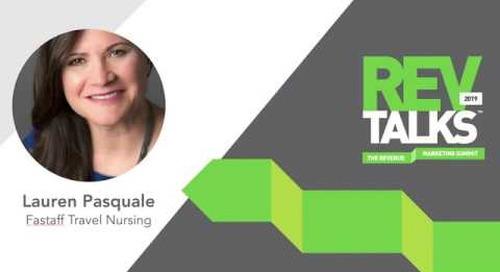 The Discipline of Revenue Marketing = The Freedom of Creativity | Lauren Pasquale at RevTalks 2019