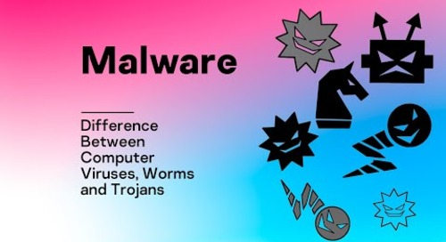 Malware: Difference Between Computer Viruses, Worms and Trojans