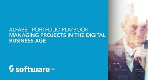 Alfabet Portfolio Playbook: Managing Projects in the Digital Business Age