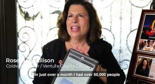 Rosemary Allison on reaching 50,000 consumers