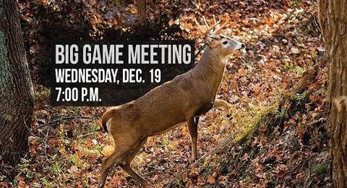 Nebraska's Big Game Meeting - Live from Ponca