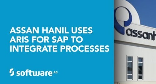 Assan Hanil, uses ARIS for SAP to integrate processes