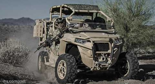 AUSA 2016: Polaris Defense JP-8 compatible MRZR variant.