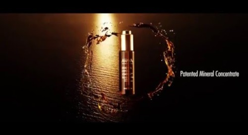 [Video] The Mystical Dead Sea: AHAVA Crystal Osmoter Facial Serum