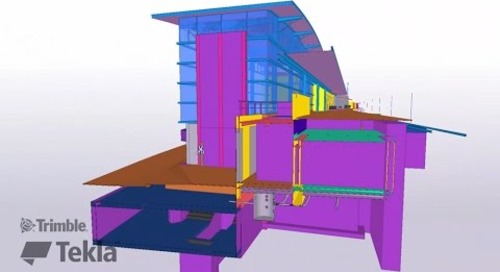 Tekla France BIM Awards 2016 - MDCI : Gare
