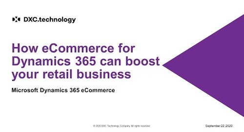 How eCommerce for Dynamics 365 can boost your retail business