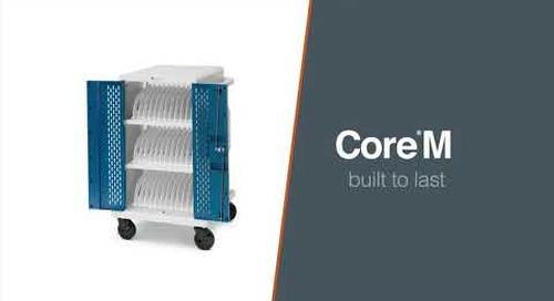 Bretford | CORE Series Charging Carts (Core M and Core X)