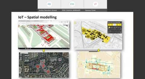ArcGIS Indoors for Smart Building Management