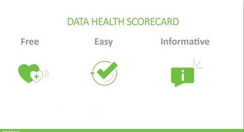 Data Health 101 Webinar
