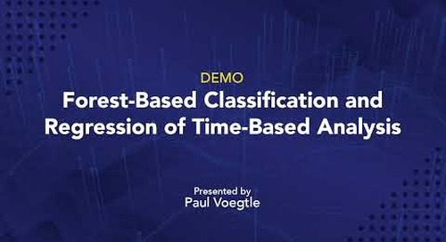 Forest-Based Classification and Regression of Time-Based Analysis