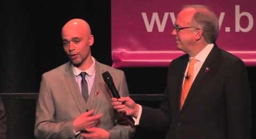 Marco Pagni and Michael speaking at BITC 2015