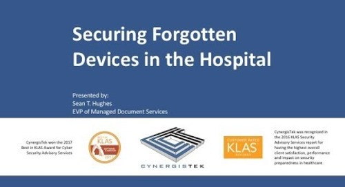 Securing Forgotten Devices in the Hospital