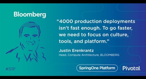 Transforming Culture at Bloomberg — Justin Erenkrantz, Bloomberg