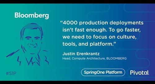 Transforming Culture at Bloomberg — Justin Erenkrantz, Bloomberg