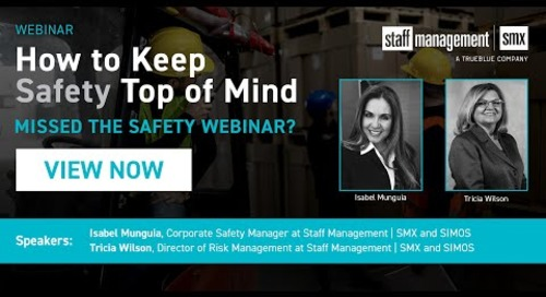 How to Keep Safety Top of Mind SIMOS and SMX Webinar