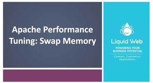 Apache Performance Tuning: Swap Memory