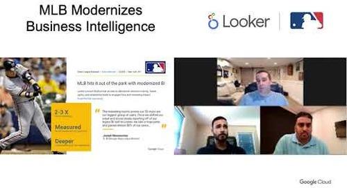 MLB Modernizes Business Intelligence