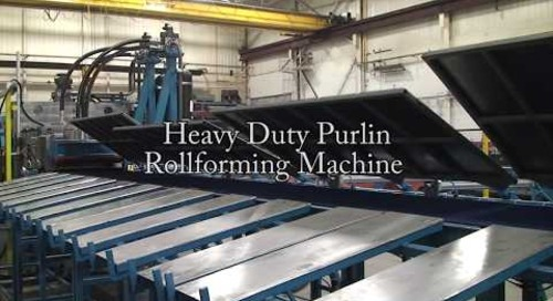 Samco Machinery Heavy Duty Purlin Rollforming Machine