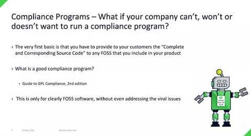 The Evolution of the LGPL License Agreement -- A Review of the LGPL v3  {Qt Virtual Tech Con 2020}