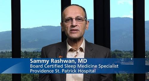 Board Certified Sleep Medicine Specialist, Sammy Rashwan, MD