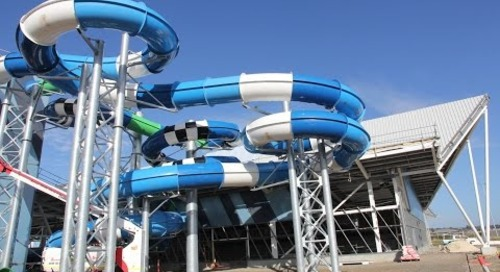 Splash Aqua Park and Leisure Centre: Construction Update March 2017