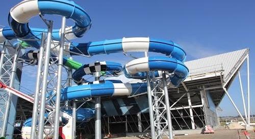 Splash Aqua Park and Leisure Centre: Construction Update March 2017