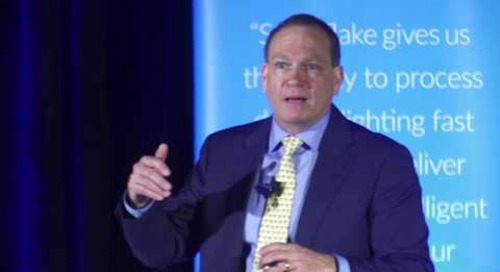 Cloud Analytics Summit: Financial Services — Keynote with Snowflake CEO, Bob Muglia