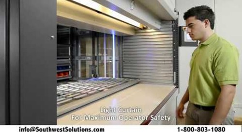 ASRS Automated Shuttle XP Vertical Lift Module by KardexRemstar