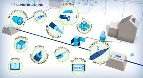FTTH is easier than you think. Just FOLLOW THE POWER®