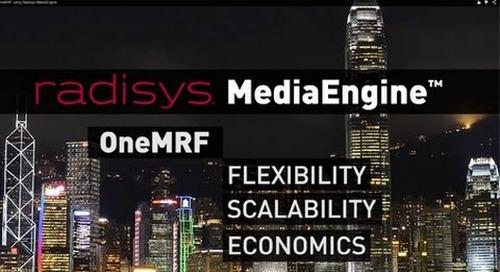 Deploying OneMRF using Radisys MediaEngine