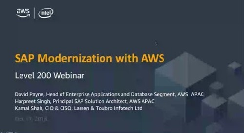 SAP Modernization with AWS
