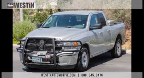 Installation of Westin HDX Winch Mount Grille Guard on '14 Dodge Ram 1500 PN# 57-93545