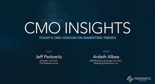 CMO Insights: Ardath Albee, CEO, Marketing Interactions