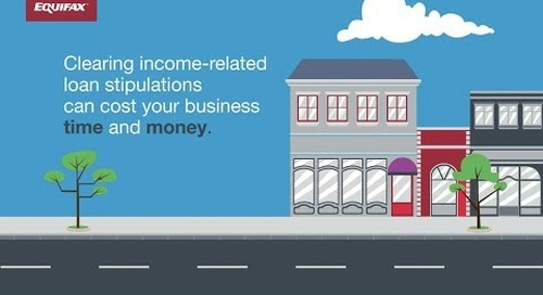 Fast, Frictionless Income Estimation for Lenders: Consumer IncomeView™ from Equifax