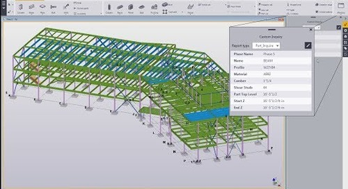 Tekla Structures Custom Inquiry Tool