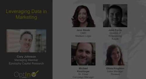 Leveraging Data in Marketing