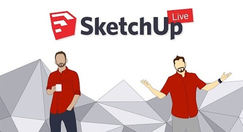Facebook Live: Texture Mapping in SketchUp (Feb. 17, 2017)