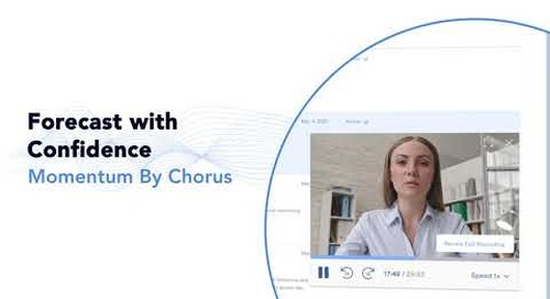 Momentum by Chorus - Forecast with Confidence