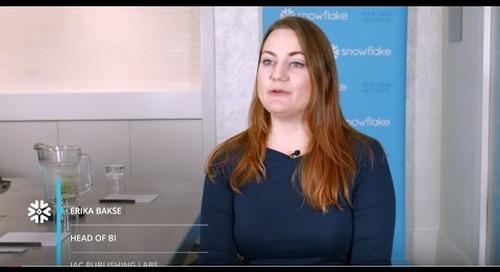 IAC Publishing Labs (Ask.com): Combining Data into Actionable Analytics with Snowflake